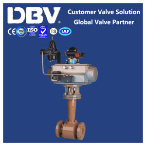 Pneumatic Stellite Metal Seated Cryogenic Wcb Ball Valve