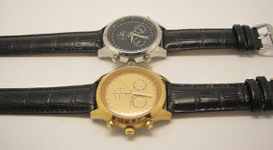 Mens Mechanical Chronograph Watch with 3crown Design pictures & photos