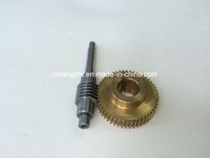 Set Transmission Worm Drive Gear and Albronze Worm Wheel