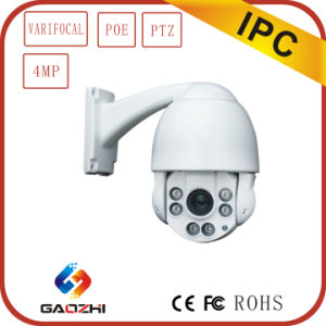 4megapixel Poe PTZ Network Security IP Camera pictures & photos