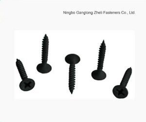 Black Self Tapping Screw/ Drywallscrew/ Wood Screw pictures & photos