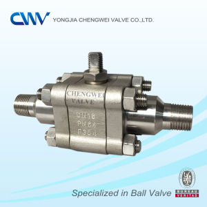 Forged Steel Floating Ball Valve with Mnpt End