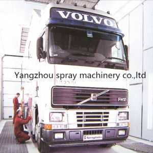Can Customized Industrial Spray Booth for Truck
