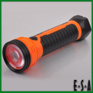 2015 High Power Brightest LED Flashlight, Rechargeable LED Flashlight, Best Sale Long Distance Torch Light LED Flashlight G01e106 pictures & photos