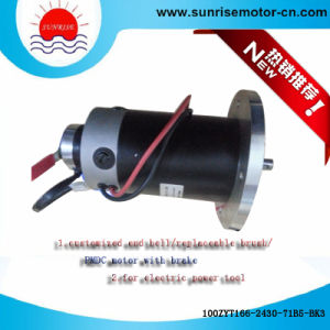 100zyt166-2430-71b5-Bk3 Electric Motor PMDC Motor pictures & photos