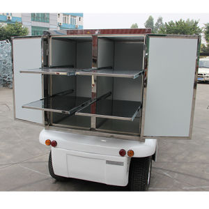 Restaurant Car, Electric Food Car with Big Dining Box pictures & photos