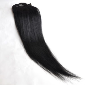 Full Head Indian Remy Clip in Human Hair pictures & photos