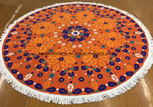 Microfiber Round Beach Towels pictures & photos
