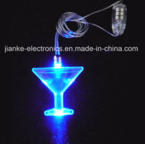 Advertising LED Flashing Cup Necklace with Logo Print (2001) pictures & photos