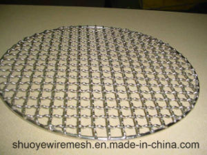 BBQ Net Grill Neting with Crimped Wire Mesh pictures & photos