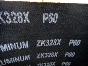 Aluminum /Zirconium Oxide Abrasive Cloth Zk328X 60# pictures & photos