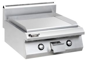 Gas Driven Grooved Panini Grill pictures & photos