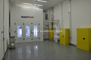 Hardened Steel Made Car Spray Booth Equipped with Filter pictures & photos