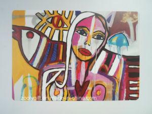 Popular Graffiti Paint Design Printing PP / PVC Placemat / Coaster pictures & photos
