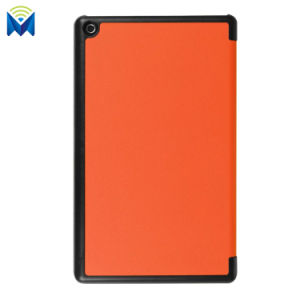 Anti-Scratch Tri-Fold Leather Stand Case Cover for Amazon Kindle HD8 2017 pictures & photos