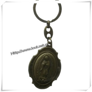 Bronze Custom Virgin Mary Metal Keychain, Key Chain (IO-ck091) pictures & photos