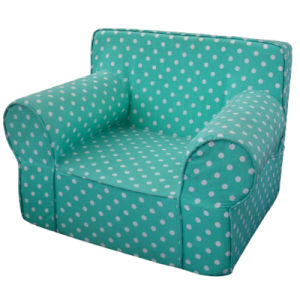 Full Sponge Baby Chair with White Dots/Children Furniture (SXBB-341) pictures & photos