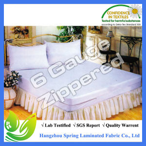 Bed Bug Waterproof Mattress Cover Zippered Mattress Encasement Queen Size pictures & photos