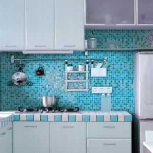 Kitchen Mosaic Backsplash Mosaic Tile Boder Mosaic Tile for Kitchen pictures & photos