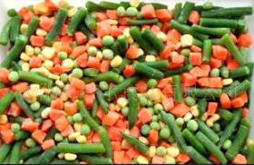 2016 IQF Frozen Mixed Vegetables in 4mix/3mix/2mix pictures & photos