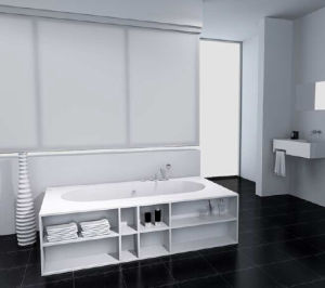 Practical Design Acrylic Stone Solid Surface Bathtub pictures & photos