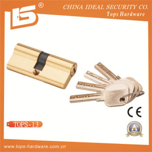 Brass Normal Key Lock Cylinder (TOPS-13) pictures & photos