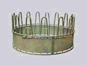 Farm Machine Agricultural Equipment Livestock Feeder Hay Feeder Round Bale Hay Feeders pictures & photos