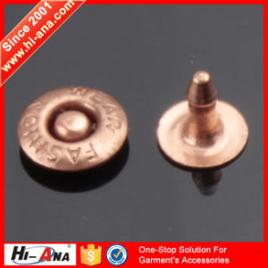 More 6 Years No Complaint Good Price Leather Button Rivets pictures & photos
