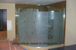 Curved or Bent Toughened Shower Screen Glass pictures & photos