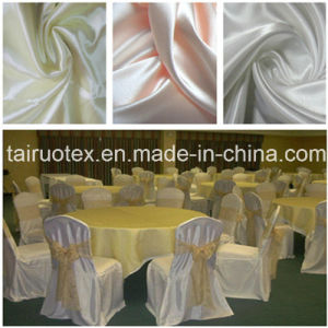100% Polyester Silk Satin for Hotel Table Fabric pictures & photos