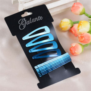 12 Pieces Card Packed Metal Hair Pin Clip Accessoires (JE1032) pictures & photos