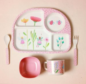(BC-CS1074) Natural Bamboo Fiber Tableware Set for Kids pictures & photos