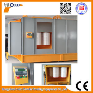 Manual Overhead Conveyor Electrostatic Powder Spray Booth pictures & photos
