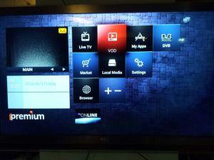 Digital Receiver DVB-T2+S2+C+IPTV Combo STB Ipremium I9 pictures & photos