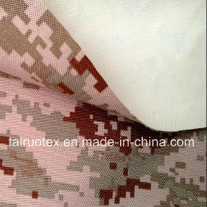 Camouflage Printed Taslon with White Coated for Military Uniform pictures & photos