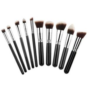 Top Quality 10PCS Kabuki Makeup Brush Cosmetic Brush pictures & photos