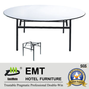 Hotel Banquet Table with Foldable Strong Metal Frame (EMT-FT602) pictures & photos