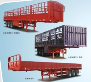 Fence Stake Cargo Semi Trailer pictures & photos