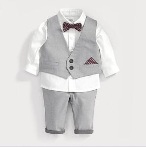 2015 New Arrival Three-Piece Autumn Winter Fashion Cottonlovely Kids Suit Children Casual Suit pictures & photos