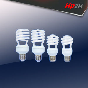 CFL Half Spiral Compact Fluorescent Bulb Energy Saving Lamp pictures & photos