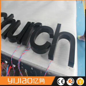 Energy-Saving LED Stainless Steel Back Lit Letter Sign pictures & photos
