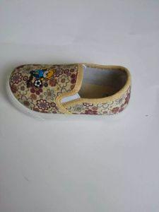New Design Beautifual Children Canvas Shoes