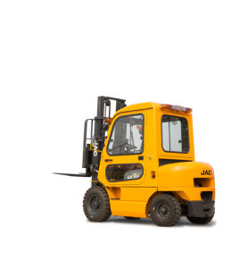 2.5ton Diesel Forklift Truck with Cabin and a. C pictures & photos