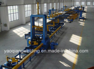 Assembling Welding and Straightening Box Beam Production Line pictures & photos