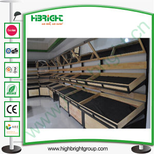Commercial 3 Tier Display Stand for Vegetables and Fruits pictures & photos