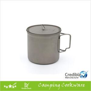 1100ml 37oz Ultraight Camping Titanium Pot & Mug pictures & photos