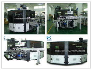 Flat Bed Silk Automatic Screen Printing Machine Turntable Type pictures & photos