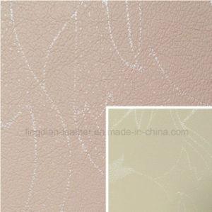 Eco-Friendly Fashion Pattern Microfiber Leather (FD403)