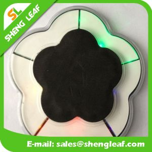 Promotional Hot Sale Custom Acrylic LED Coaster (SLF-LC018) pictures & photos