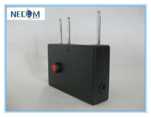 3 Antennas Signal Remote Control Jammer, Jamming 433/315/868 MHz, 100meters Wireless Signal Jammer with Battery pictures & photos